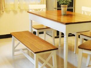 【私家生活】新西兰进口实木餐厅田园长凳餐桌凳长板凳木凳餐椅,椅凳,