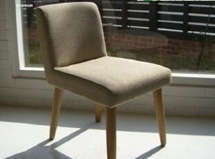 森系制造/日式家具 纯实木北欧餐椅 吧椅/沙发椅DC-334星巴克风,椅凳,