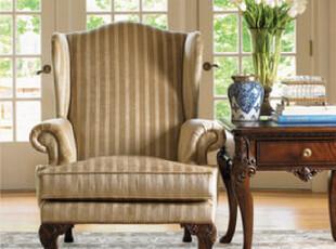【天猫原创】奥汀堡英式家具 思想家 休闲椅 读报椅1189006 X,椅凳,