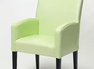 出到欧洲 绿色 青色皮椅 扶手皮椅 实木椅 书房椅子 化妆椅子,椅凳,