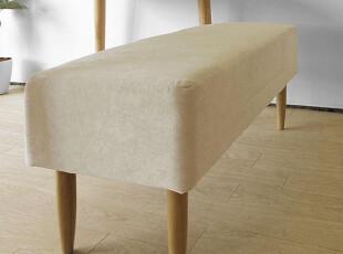 木聪良品家具 日式实木北欧现代风格白橡木餐椅换鞋凳长凳DC-310,椅凳,