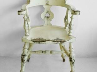 【汉资 欧式田园】温莎公爵椅 实木 餐椅 地中海 家居必备,椅凳,