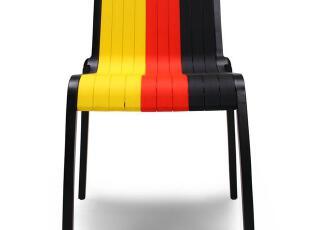 欧洲杯纪念品 装备国旗椅iMuse木易系列  足球椅 椅子时尚创意椅,椅凳,