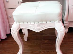 装典美家 皮艺妆凳 欧美现代风格 卧室 梳妆凳 真皮妆椅 T88-3,椅凳,