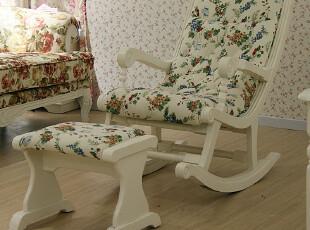 辣小椒 韩式LS 时尚摇椅 休闲摇椅 逍遥椅 田园躺椅 椅子 YY800,椅凳,