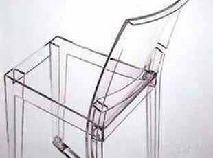 意大利Kartell La Marie 透明 靠背椅/餐椅,椅凳,