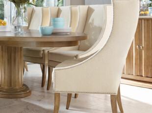 外贸 外单 餐椅4 欧式实木 地中海,椅凳,