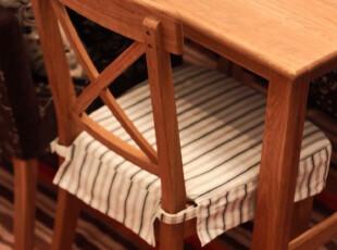 现货入库 全橡木涂油蜂蜜色涂油 餐椅HR6031,椅凳,