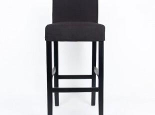 水样儿 麦克维德 欧式吧台椅 布艺座椅 高脚椅江浙沪包邮,椅凳,