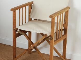 橡木导演椅非柞木折叠椅外贸原单户外休闲椅实木午休椅钓鱼电脑椅,椅凳,