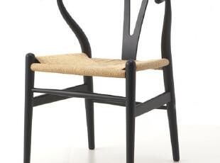 Y Chair Y椅骨叉椅 扶手椅 实木餐椅 北欧风情宜家 大师椅子 书椅,椅凳,