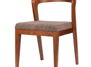 北欧风情家具 丹麦设计师 水曲柳 餐椅实木 胡桃木 日式 宜家椅子,椅凳,
