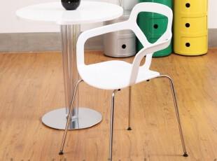 白色椅子 创意时尚 休闲餐椅 简易椅 会议椅 家用电脑椅 户外桌椅,椅凳,