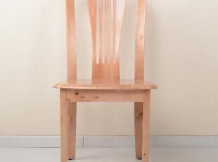 【黑白调】餐椅实木简约时尚单人椅子特价包邮,椅凳,