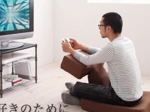 日本直送日本制看电视玩游戏超方便 设计感T型座椅子 搬家礼品 A,椅凳,