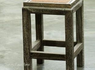 北欧表情/出口日本/和风日式烧桐家具/烧桐实木高凳换鞋凳,椅凳,