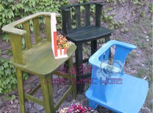 地中海风格家具 在树上唱歌扶手吧 乡村 地中海吧椅 昨日乡村,椅凳,