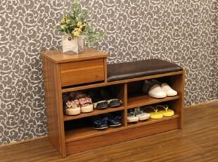 特价 笨小孩 带抽屉多功能布艺换鞋凳/鞋柜/鞋架/储物 C-B11,椅凳,