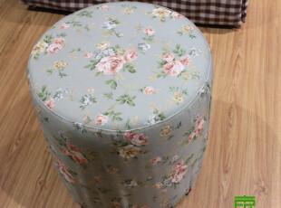 东居 田园沙发 圆凳 换鞋凳,椅凳,