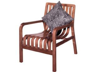 爱美家_北欧 实木休闲椅 扶手椅 单人沙发椅 A家 书椅 YA0701,椅凳,