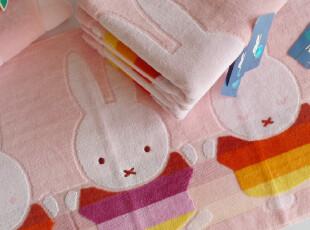 特价金号毛巾专柜正品米菲兔割绒柔软吸水厚纯棉毛巾 可配大浴巾,毛巾,