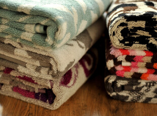 JF2925 赛*丝外贸尾货 色织提花 高品质外贸 纯棉毛巾六款,毛巾,