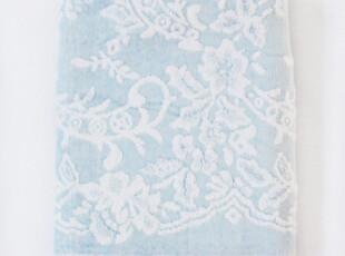 出口日本 日单 法国大牌junko 纯棉 提花 无捻纱 浴巾 120*60cm,毛巾,