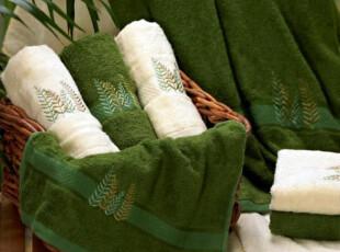 洁丽雅竹纤维美容巾六件套 情侣毛巾清影5(精美拎袋) 吸水性好,毛巾,