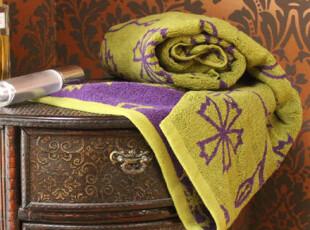 西班牙sybilla 大自然的恩典 67cm*124cm 纯棉厚浴巾 480克 带标,毛巾,