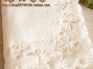 japan towel日单Wedgwood纯棉割绒小方巾环保手帕手绢擦手巾,毛巾,