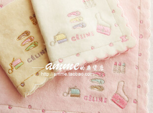 amme小店外贸出口瑟琳三色证件夹小方巾手帕,毛巾,