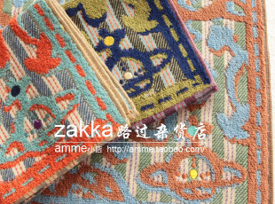 外贸出口日本v*vienne w*stwood土星海盗方毛巾手帕擦手巾,毛巾,