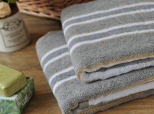 JF5056 进口长绒棉浴巾 色织彩条 浴巾,毛巾,