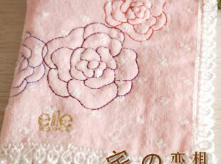 出口日本towel 好品质 水玉点点 纯棉割绒毛巾手帕小方巾擦手巾,毛巾,