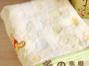 日单Japan towel  小熊维尼 纯棉无捻纱毛巾面巾柔软厚实吸水好,毛巾,