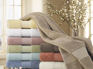 出口外贸顶级卫浴品牌 土耳其长绒纯棉浴巾 加大加厚 超柔软吸水,毛巾,