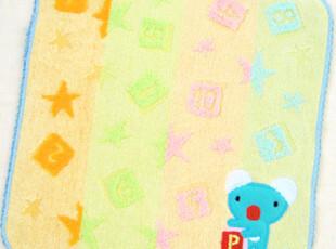 日本原单Penelope tete en lair纯棉全棉卡通儿童手帕/方巾/HL,毛巾,