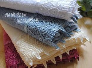 特惠!外贸蕾丝边全棉浴巾 毛巾 方巾 四色 三尺寸,毛巾,