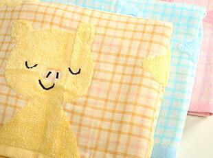 懒角落★创意家居 韩版 可爱卡通 金号 云朵动物 纯棉 浴巾 35092,毛巾,