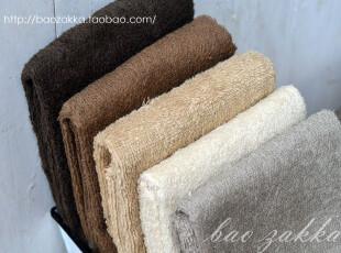 BAO ZAKKA 杂货 日单 MUJI风格 纯色纯棉毛巾 五款颜色可选,毛巾,