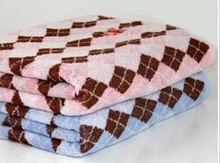多样屋 Tommy Bear毛巾系列-菱形小熊浴巾,毛巾,