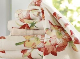 时尚家居浴巾套件 艾玛瑞里斯纯棉欧式600克浴巾毛巾方巾三件套,毛巾,