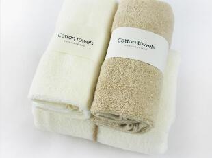 天然棉卫浴套件/毛巾x2,浴巾x1,舒适透气,纯天然,无添加,毛巾,