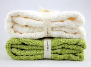 爱尚品 正品  纯棉情侣毛巾 加厚加大加长 38*76cm礼盒装 包邮,毛巾,