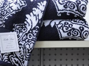 美国进口-青花瓷提花缎档高档浴巾-超级超级厚实 数量有限,毛巾,