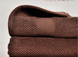 浴巾纯棉加大 厚 柔软蜂巢按摩大浴巾 婴儿盖毯超柔软吸水 无捻纱,毛巾,