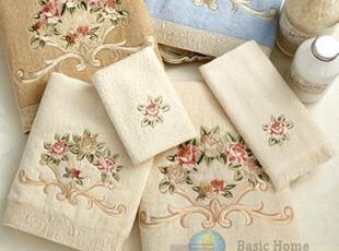 美国进口-100%加厚埃及棉巾面巾方巾三件套 加拿大制造 国内现货,毛巾,