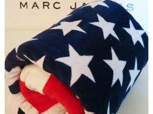 【美国专柜】㊣MARC JACOBS Flag Towel 国旗浴巾 多城市入,毛巾,