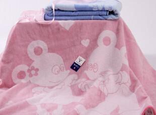 金号正品 方形儿童新生婴儿浴巾毛巾被 纯棉加大厚 泰迪熊礼盒装,毛巾,