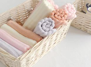 YOZO优竹 竹纤维毛巾 柔软舒适面巾 擦手巾 竖条纹 JFJ05,毛巾,